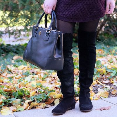 Over The Knee Deep in Fall