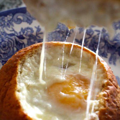 Gruyère Egg Baskets
