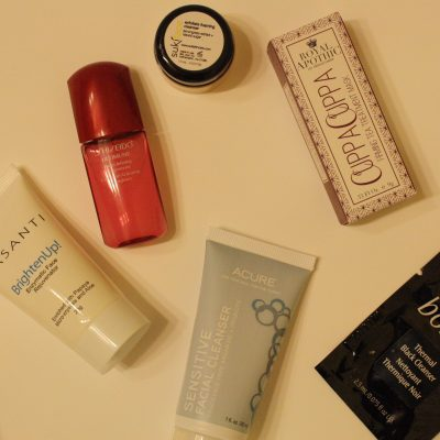 Sample Size: Masks & Cleansers
