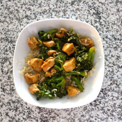Low-Cal Chicken & Broccoli