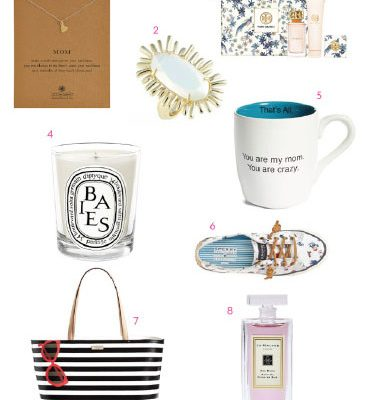 Mother's Day Gift Guide 2015