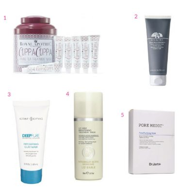 Beauty Faves: Top 5 Face Masks