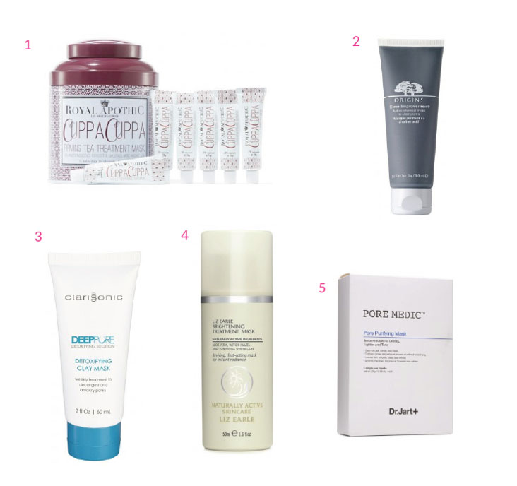 birchbox face mask roundup