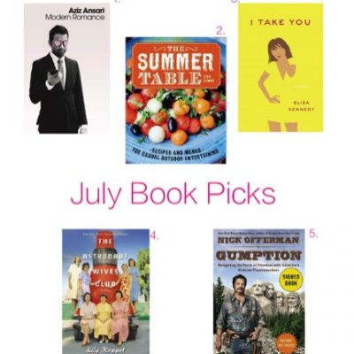 July Reading List