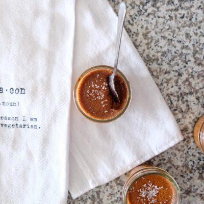 Salted Caramel Pot de Creme