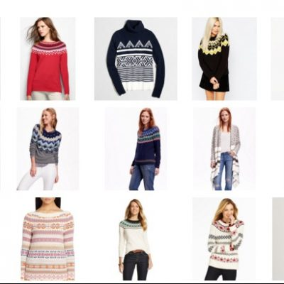 Friday 15 – Fair Isle Sweaters