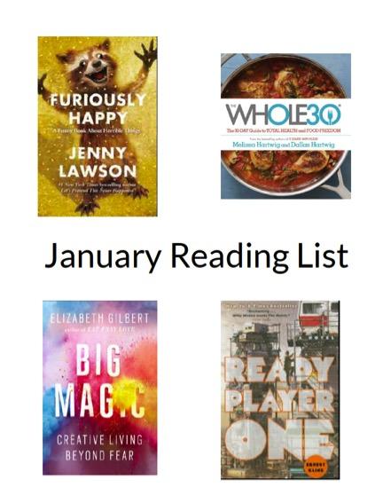 January 16 Reading list