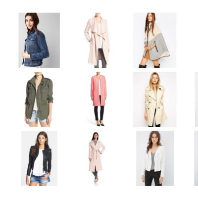 Friday 15 – Spring Jackets