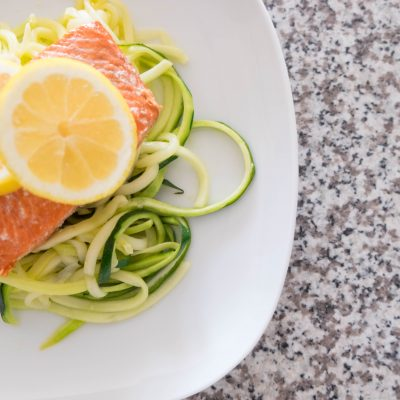Zoodles & Salmon