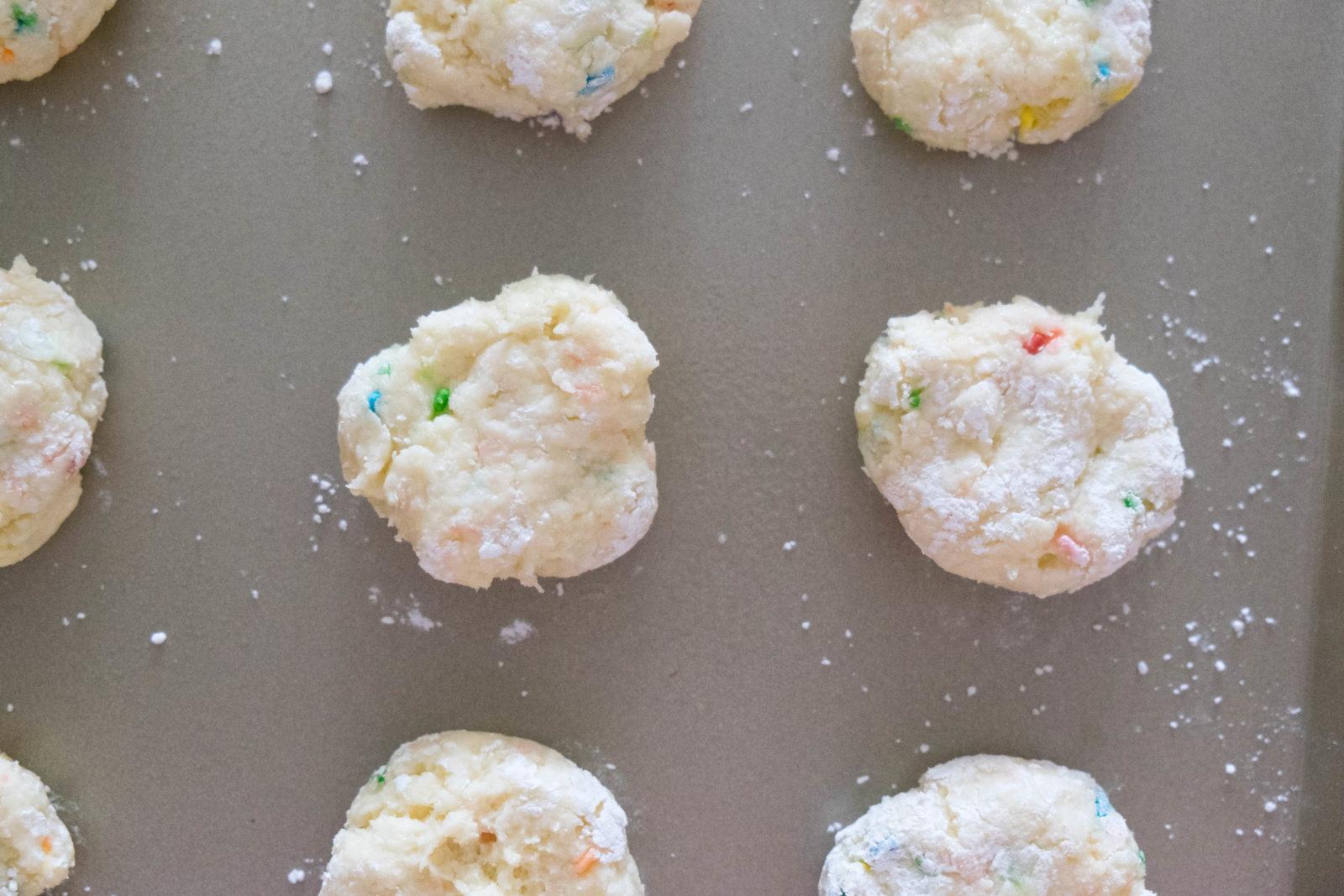 Funfetti Gooey Butter Cookies-8