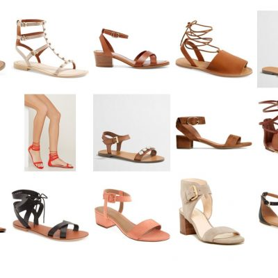 Friday 15 – Spring Sandals