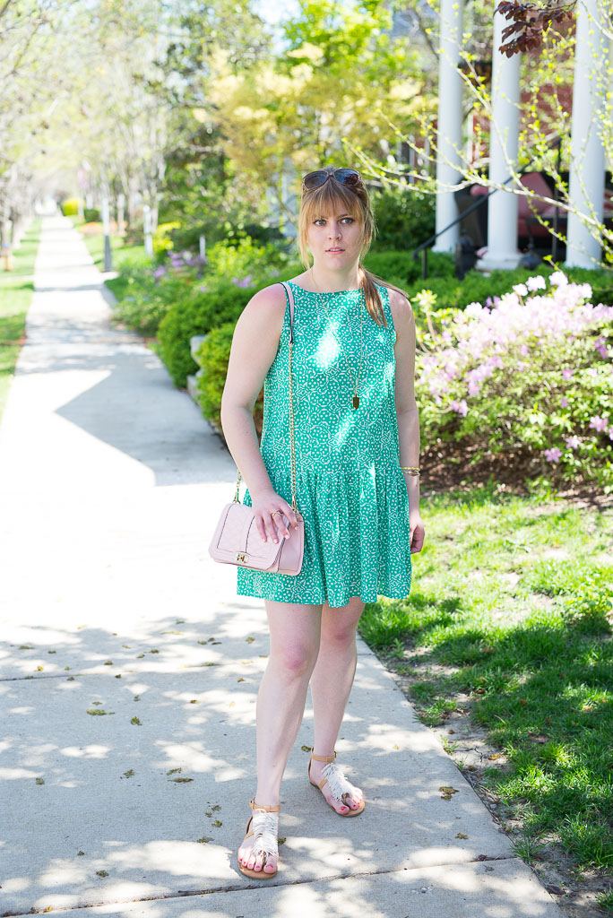 Green Spring Dress-13