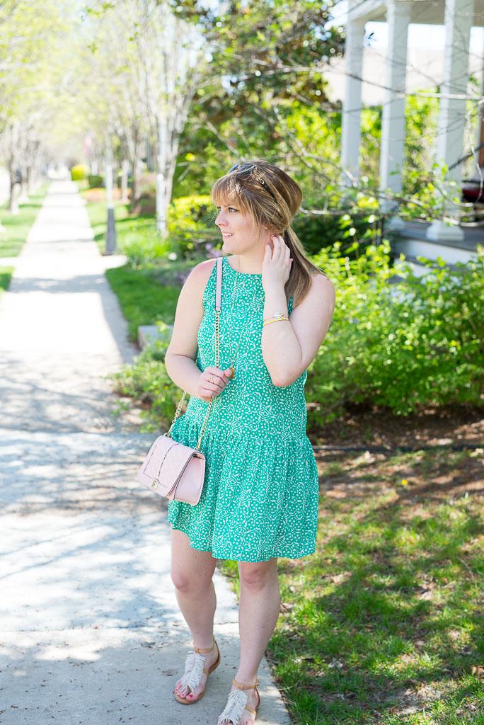 Green Spring Dress-16
