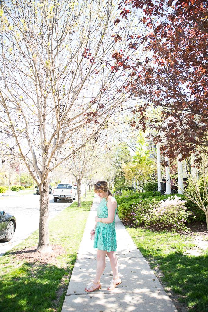 Green Spring Dress-34