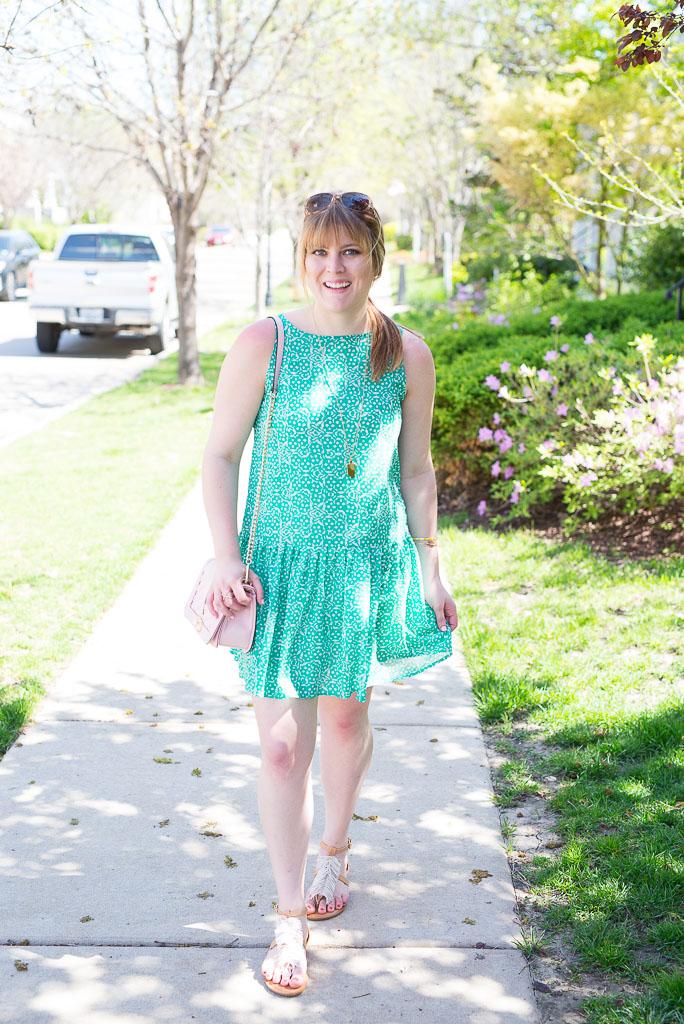 Green Spring Dress-4