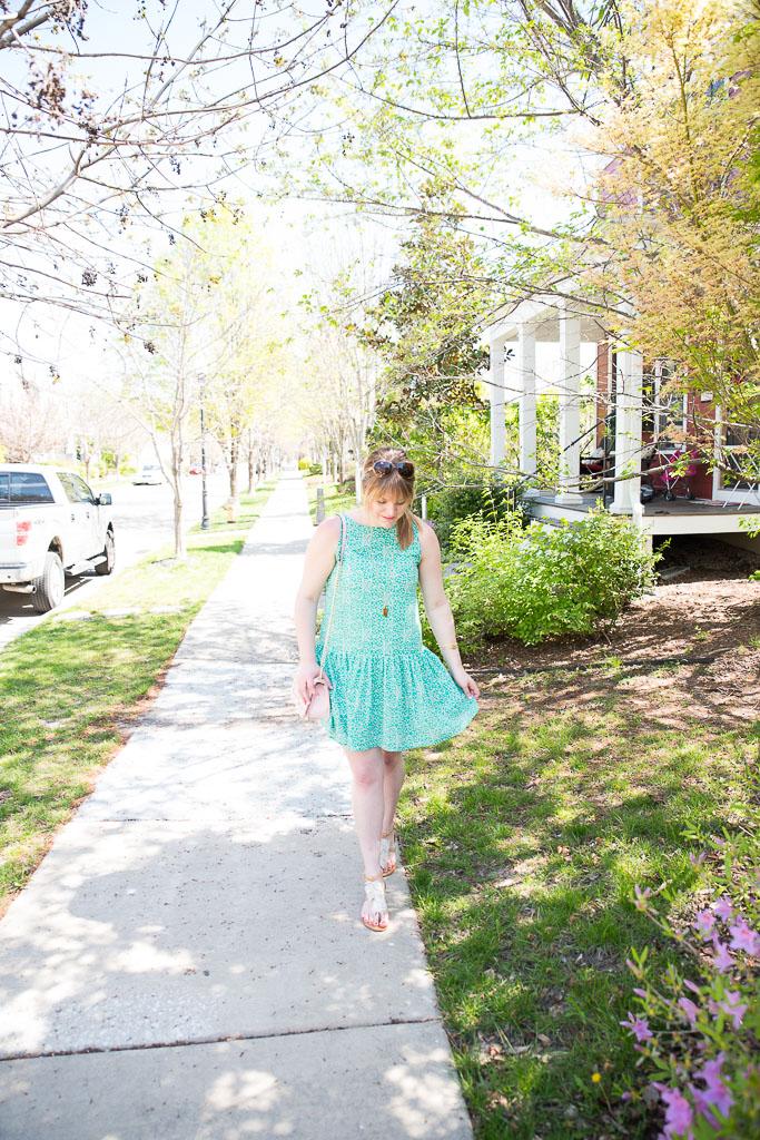 Green Spring Dress-43