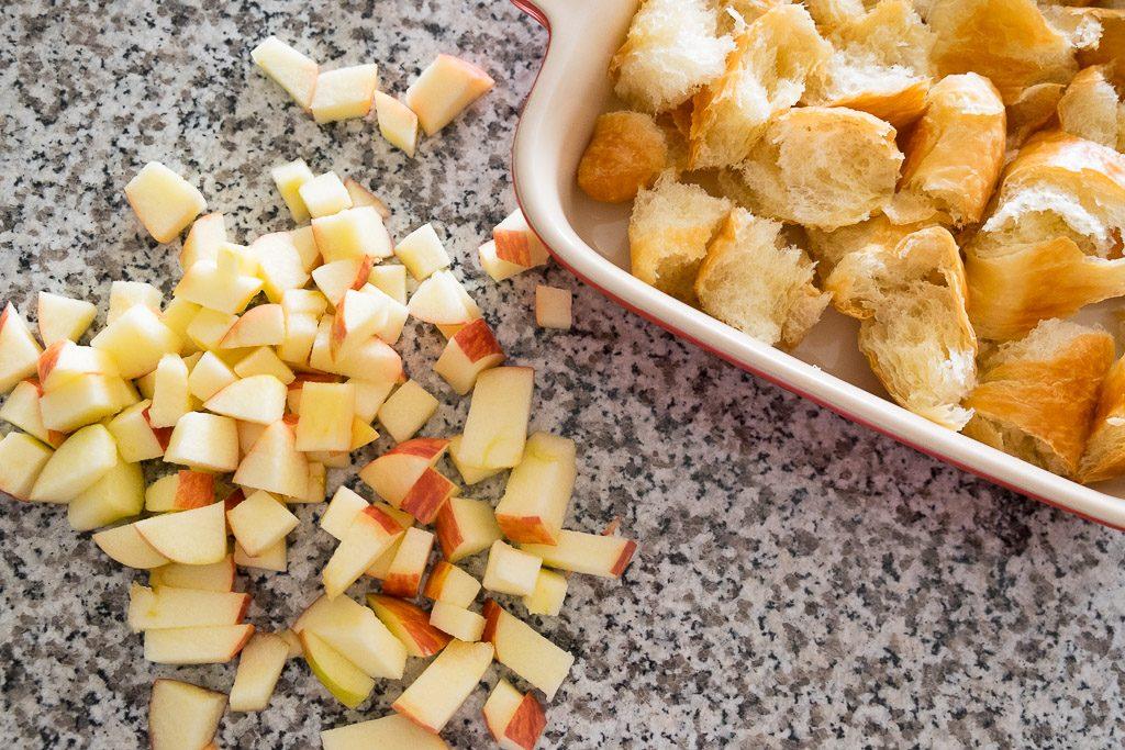 caramel-apple-croissant-bread-pudding-8