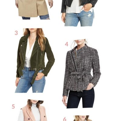 Fall Jacket Favorites