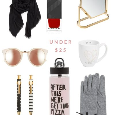 Gift Guide – Gifts Under $25