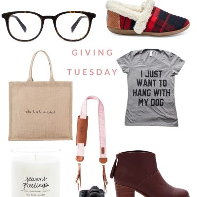 Gift Guide – Giving Tuesday