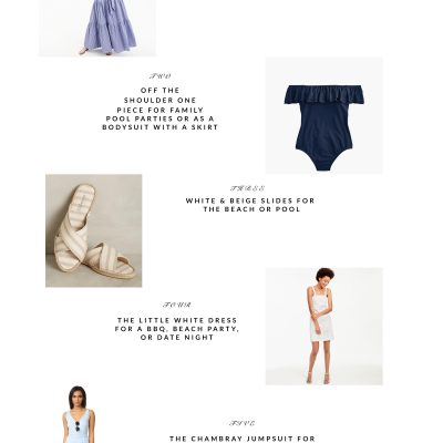 July Picks | Blue & White