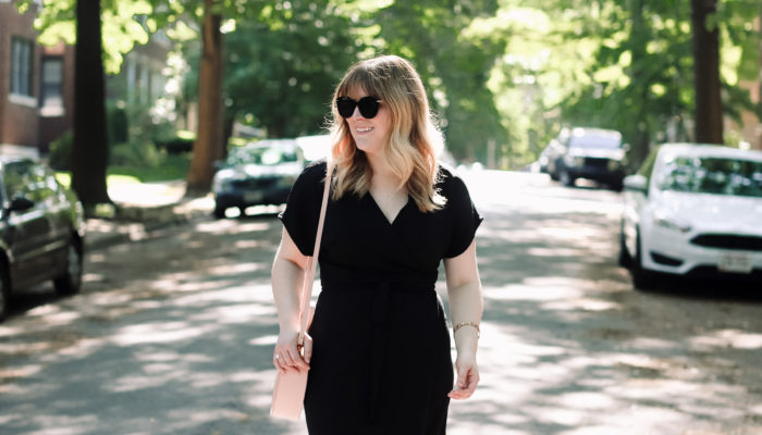 Summer Work Style: The Wrap Dress